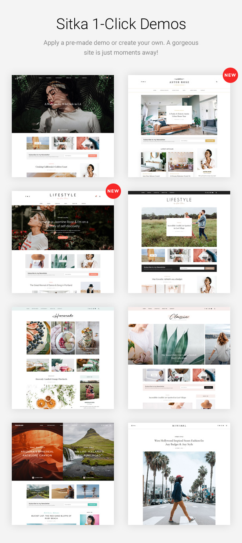Sitka - Modern WordPress Blog Theme Download
